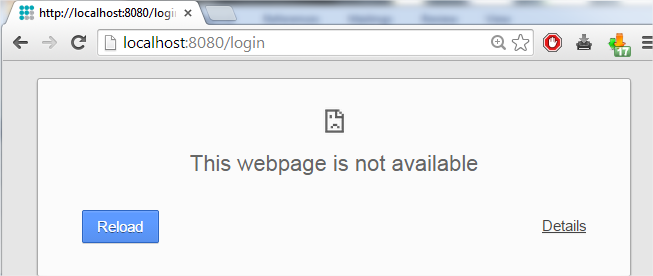 flexnet license administrator page is not found